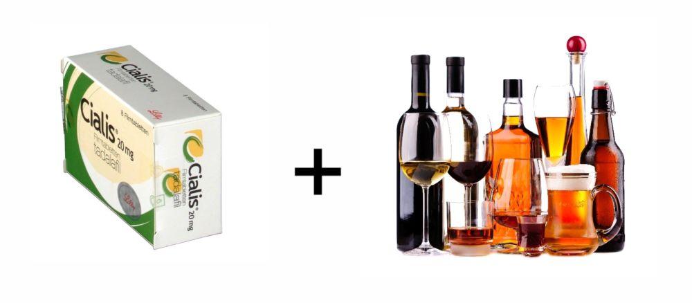 Сиалис и алкоголь