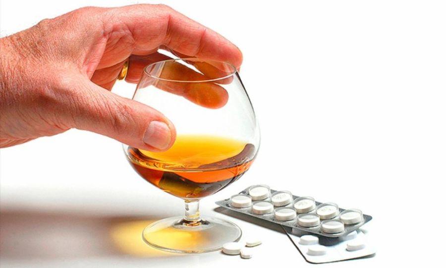 Таблетки и алкоголь