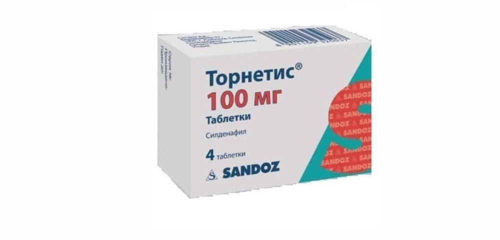 Торнетис таблетки