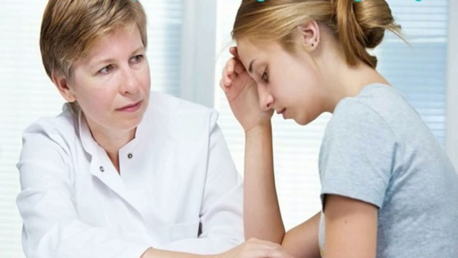На консультации у гинеколога