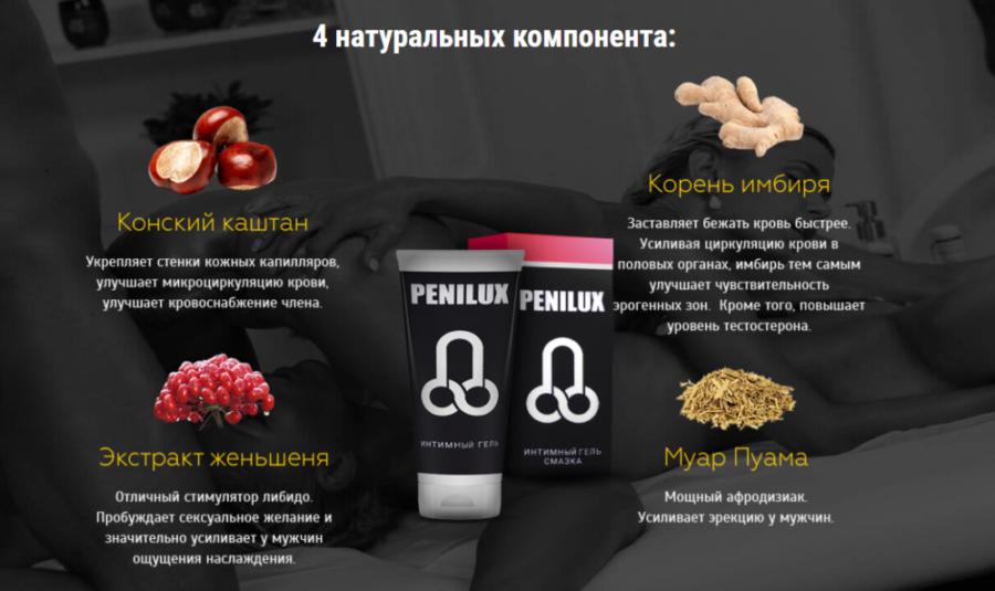 Состав геля Penilux