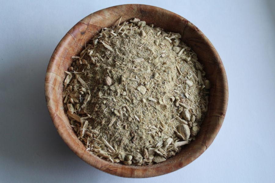 Измельченная древесная кора