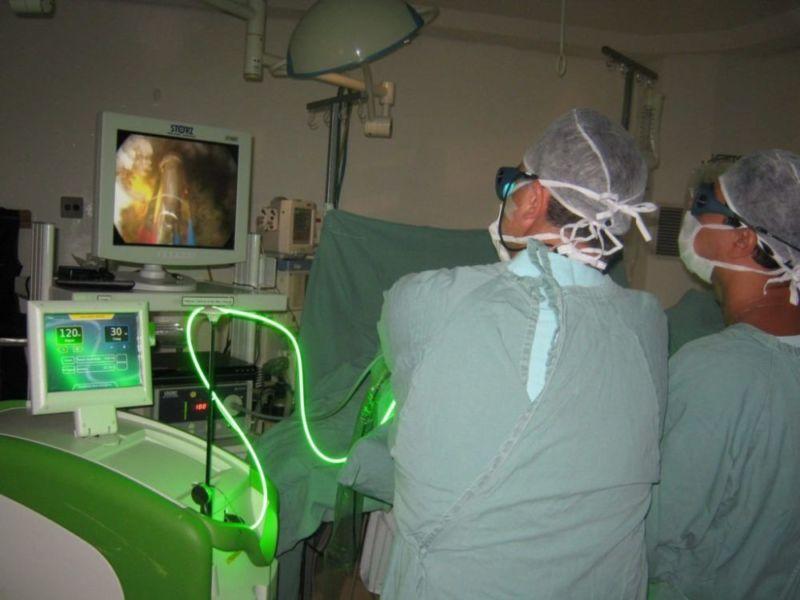 Процедура лазерного лечения