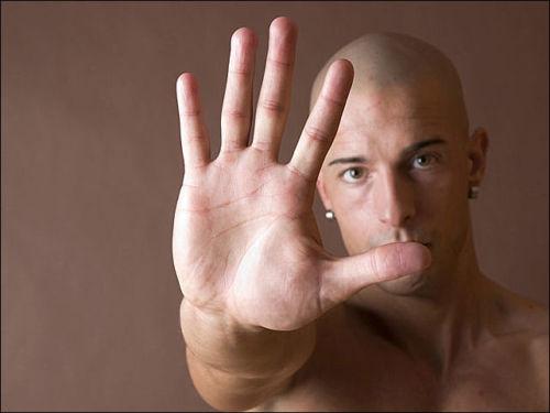 Пальцы и размер члена