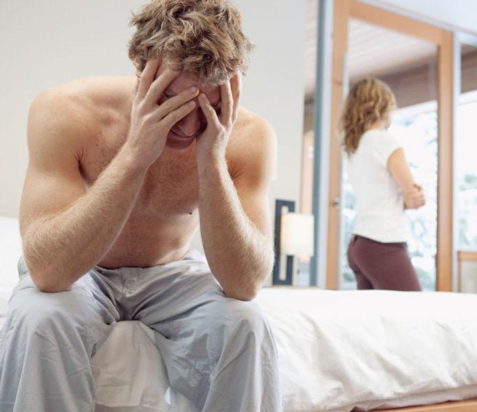 Проблемы в постели с женщиной