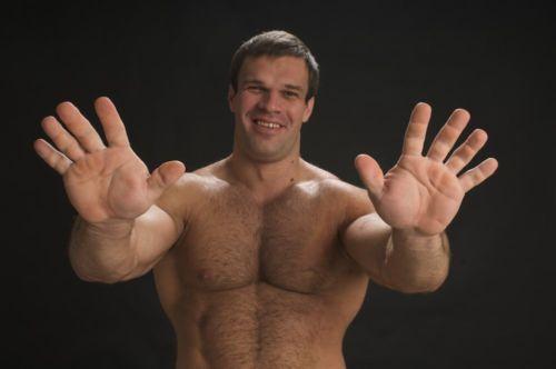 Размер члена и руки