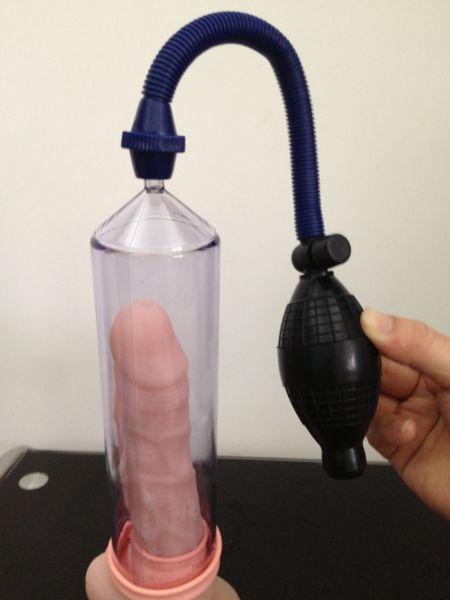 Вакуумная помпа для пениса