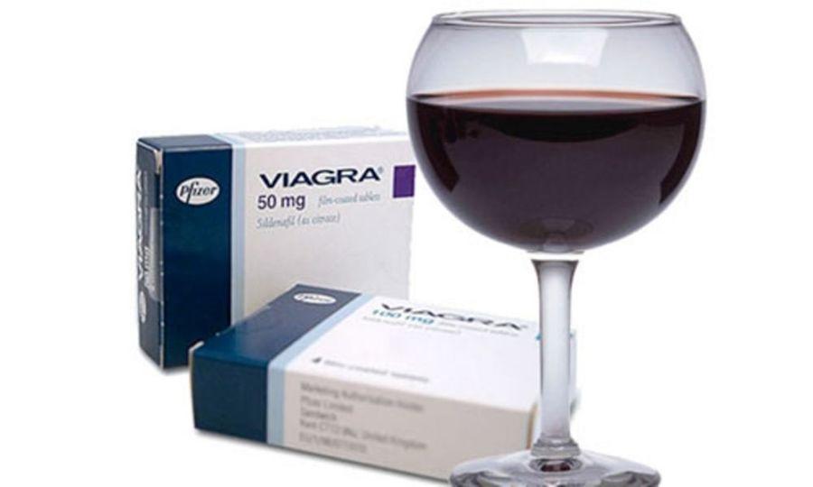 """Совместимость """"Виагры"""" с алкоголем"""