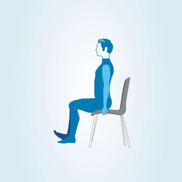 Упражнение сидя