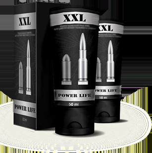 Крем для увеличения пениса XXL Power Life