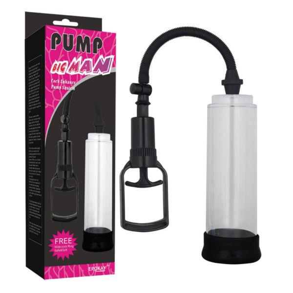 Вакуумная помпа для увеличения пениса