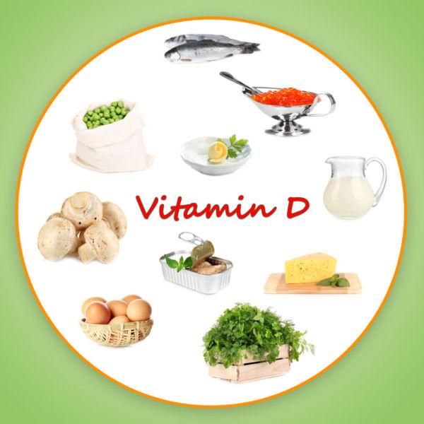 Продукты, в которых содержится витамин D