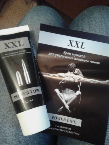 Крем XXL Power Life для увеличения члена