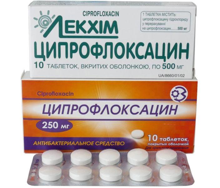 Ципрофлоксацин