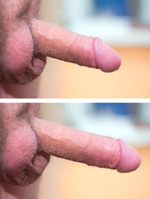 До и после спрея Доминатор