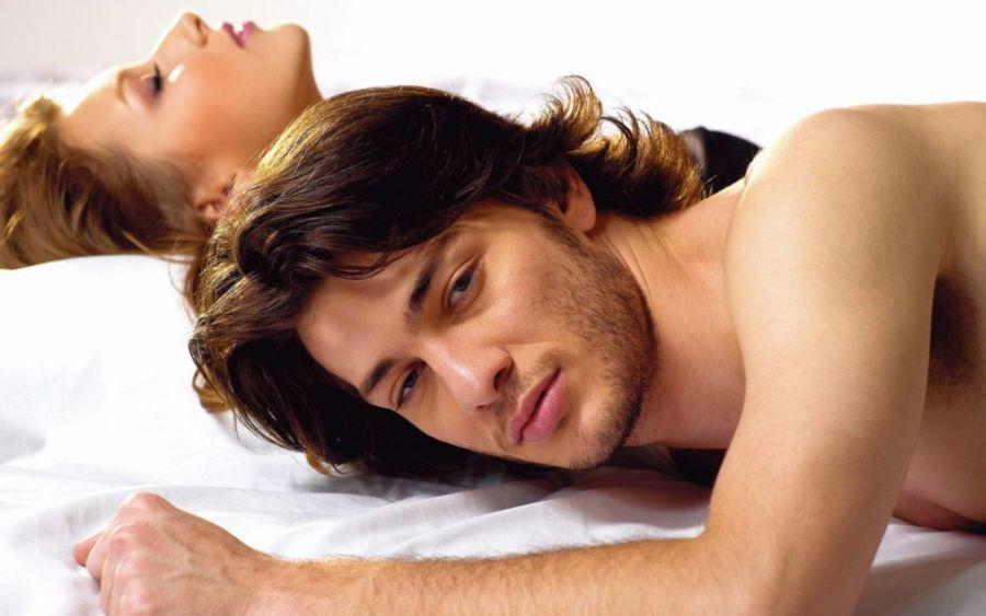Любовники в постели