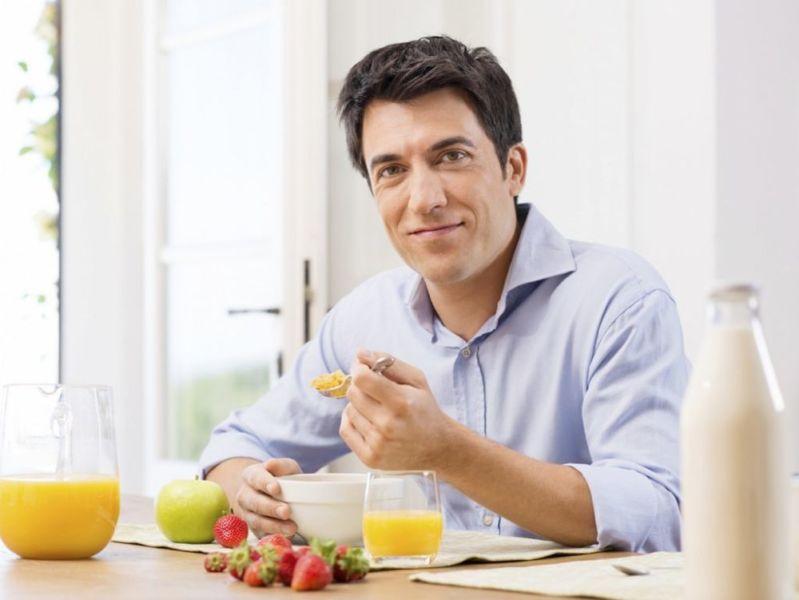 Правильный рацион питания для мужчины