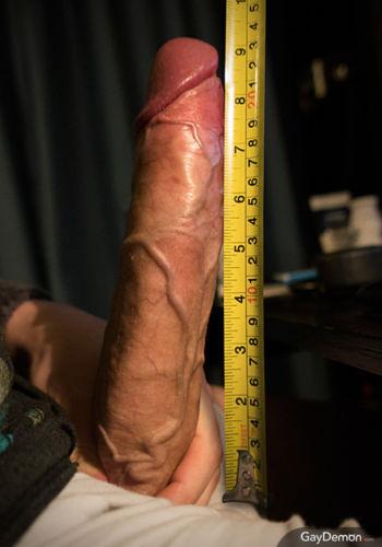 Измерение члена рулеткой