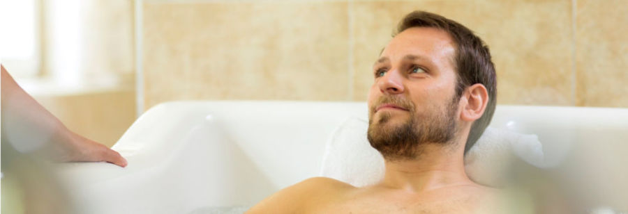 Ванна с крапивой