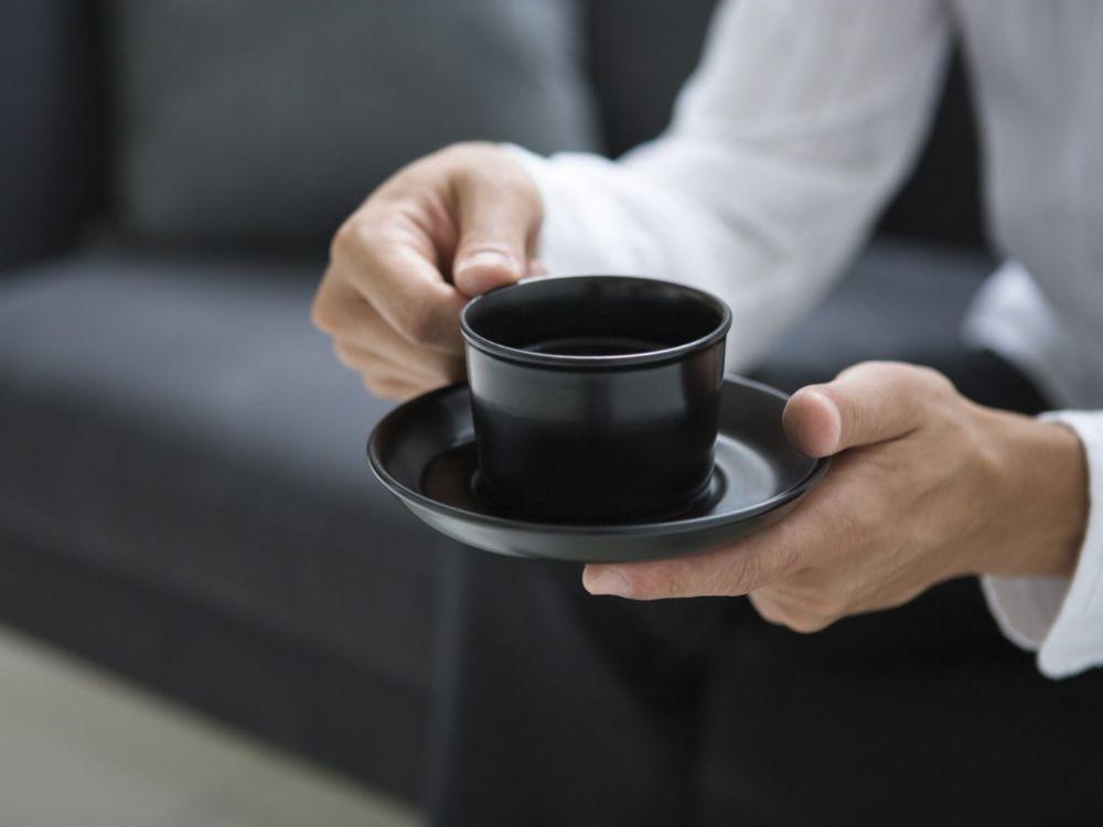 Кофе в руках
