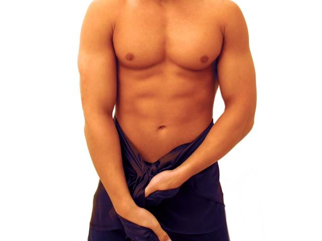 Увеличение члена массажем