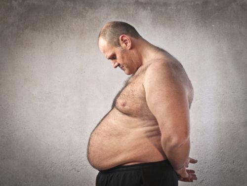 Лишний вес и размер члена